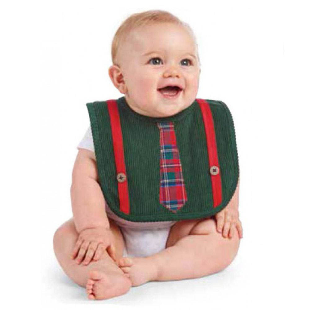 Mud Pie Necktie Bib