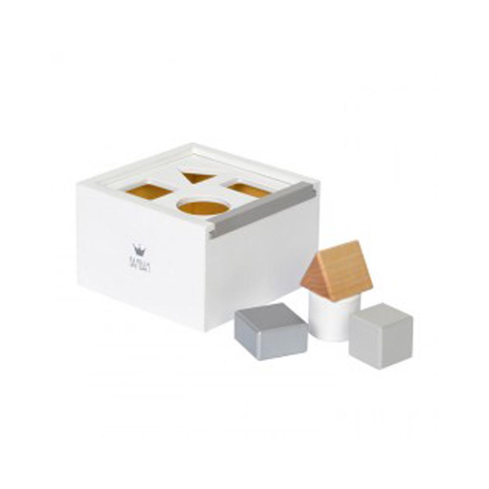 BamBam Wooden Block Box