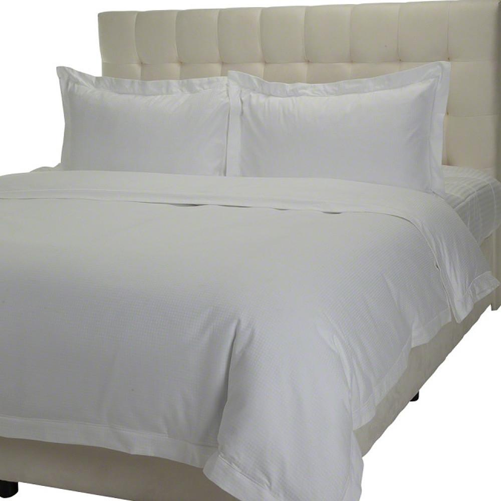 Home Centre Indulgence 3pc Duvet Cover Set 230x220cm White