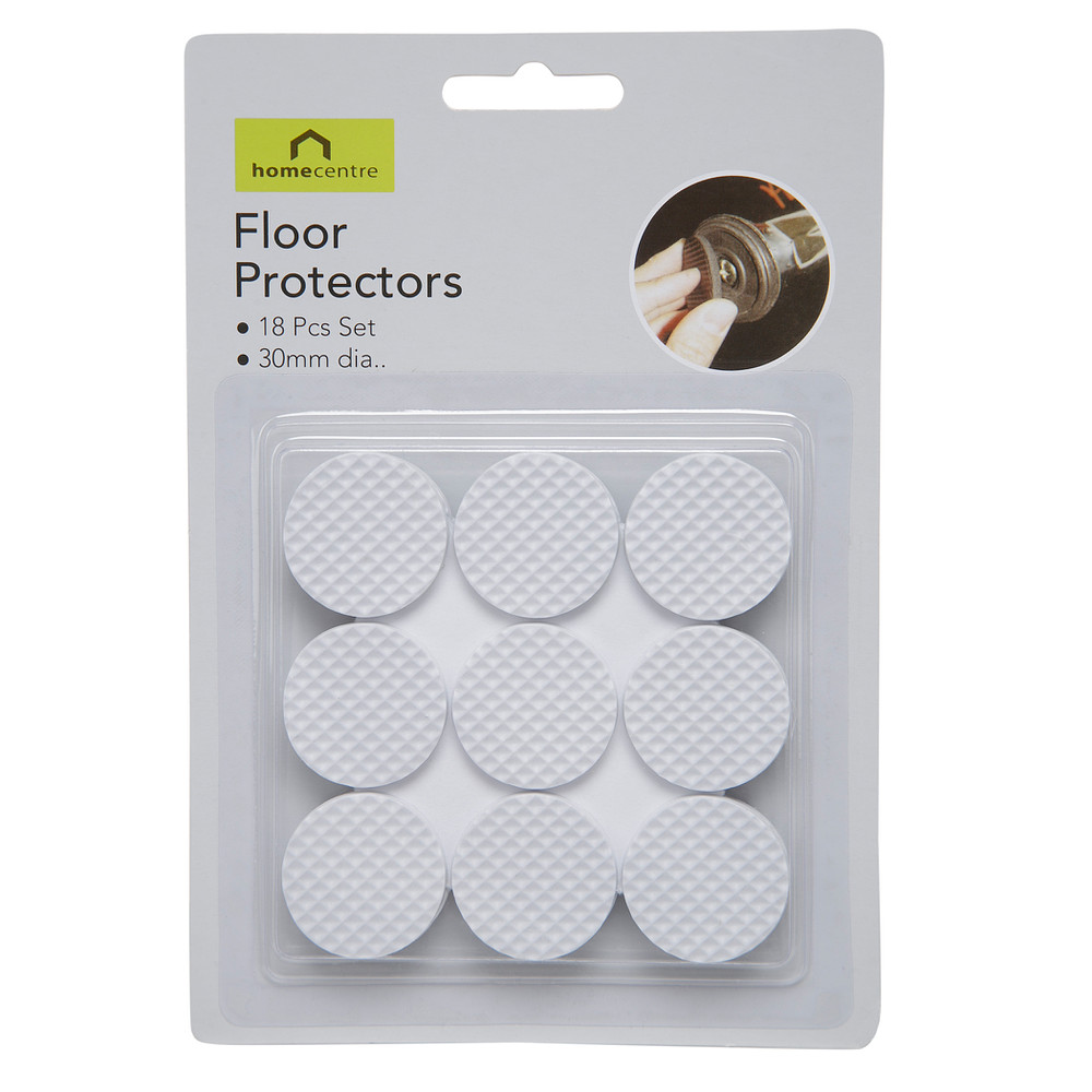 Home Centre Protecting 18-piece Floor Pad Set 30 mm