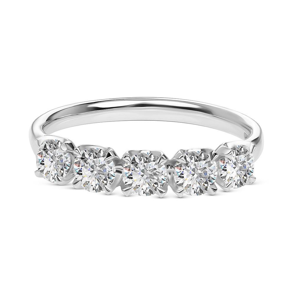 Damas Half Eternity x5 Ring