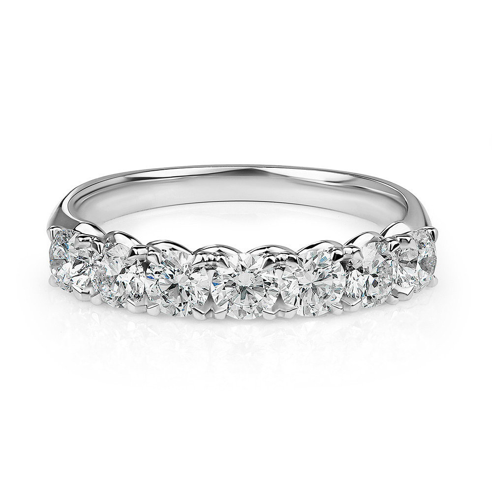Damas Half Eternity x7 Ring
