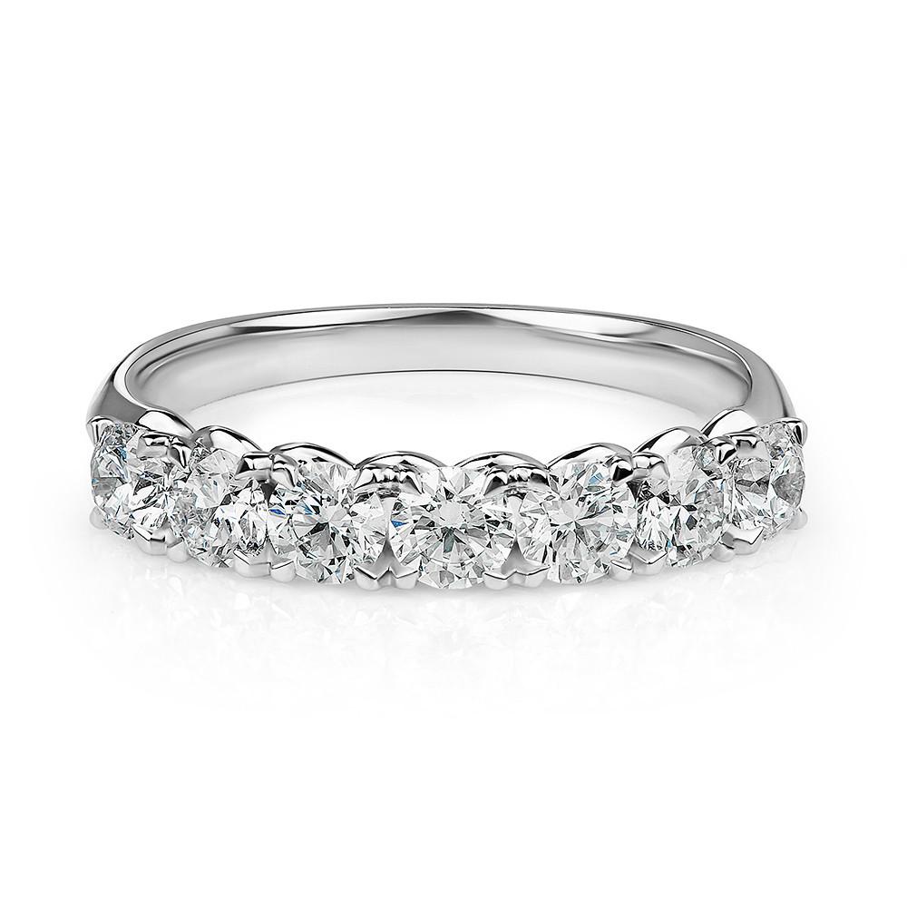 Damas Half Eternity x7 Ring