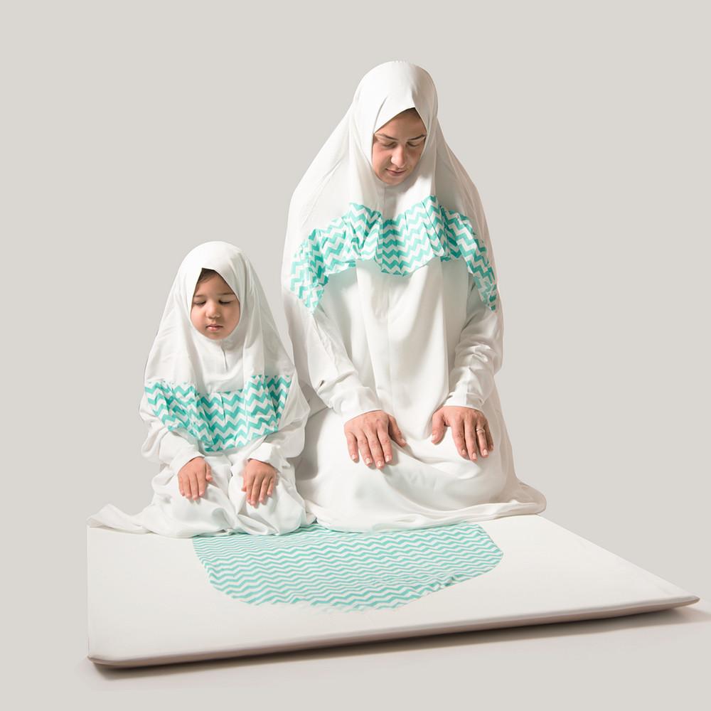 Salaty Matching Prayer Gown
