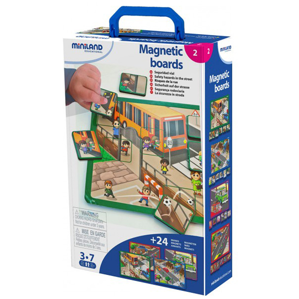 Miniland City Magnetic Boards