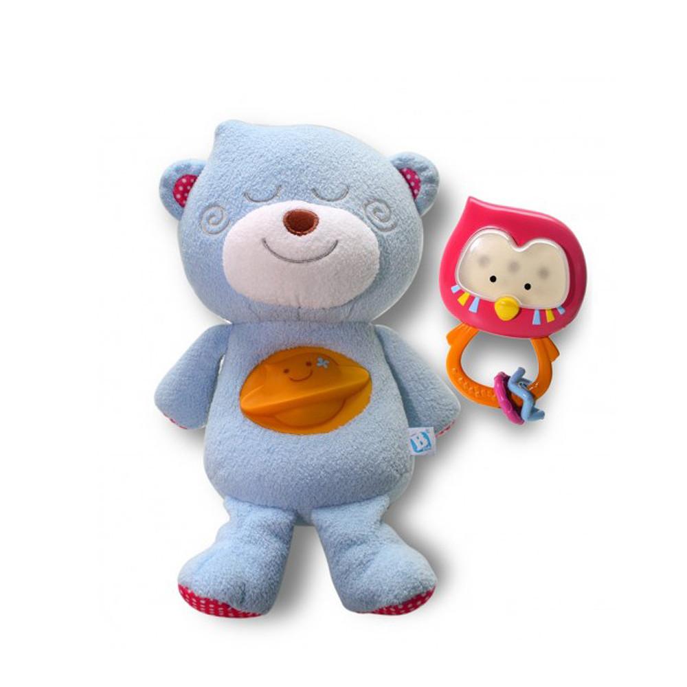 Blue Box Bobbee Snuggle Bear