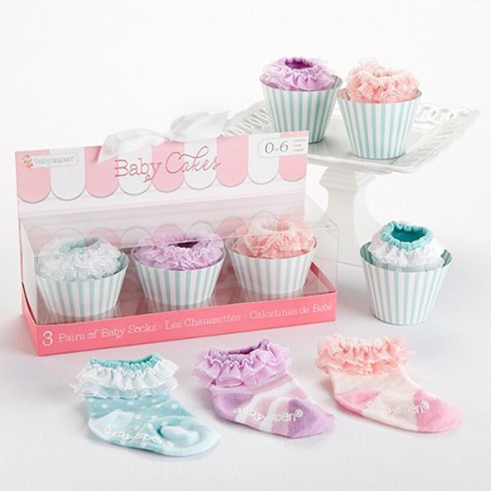 Baby Aspen Baby Cakes Socks Set