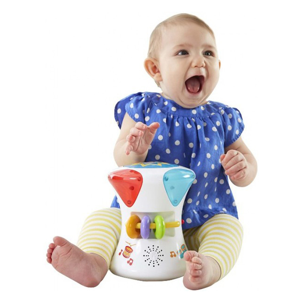 Fisher Price 2 in 1 Musical Drum Roll