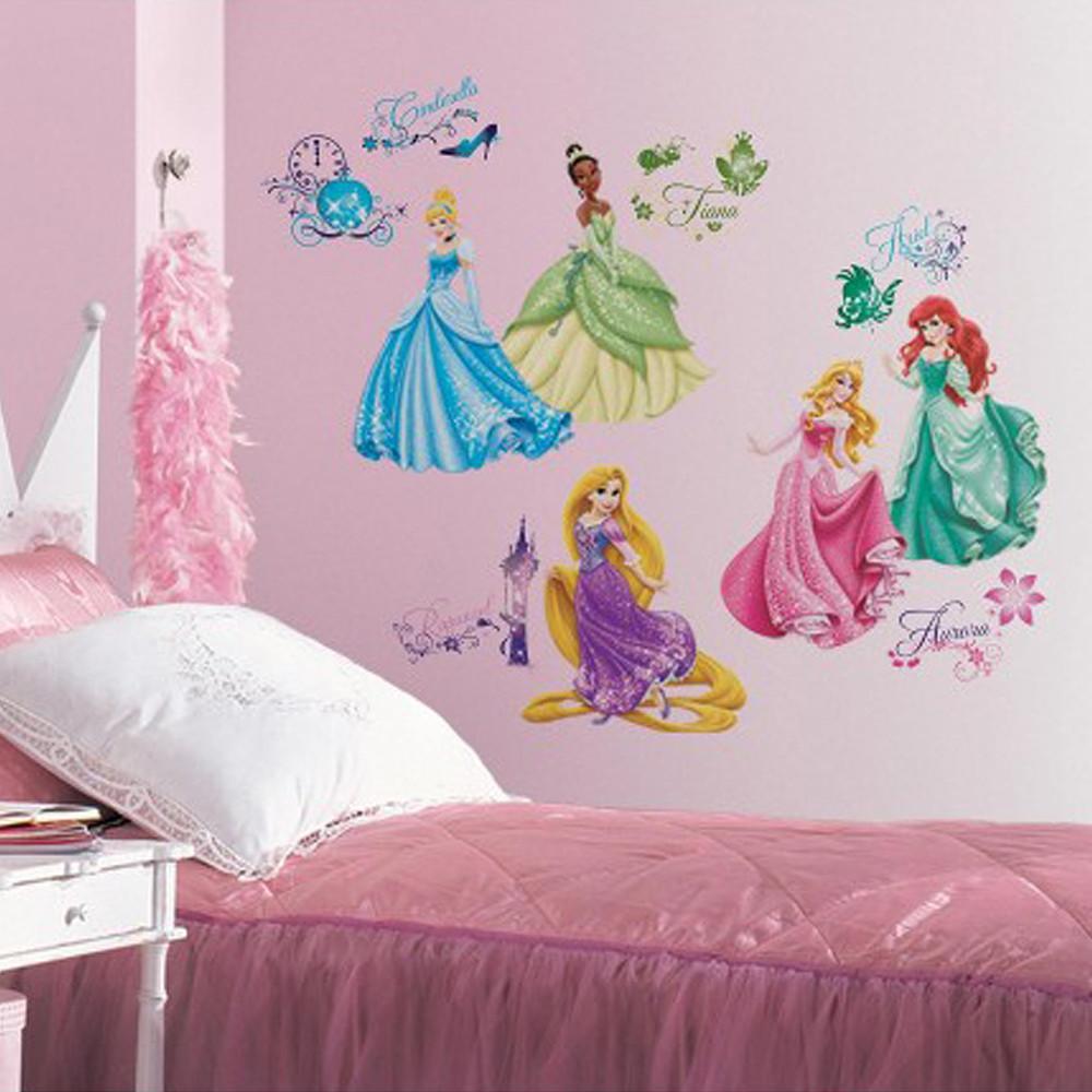 Room Mates Disney Princess Royal Debut Wall Stickers