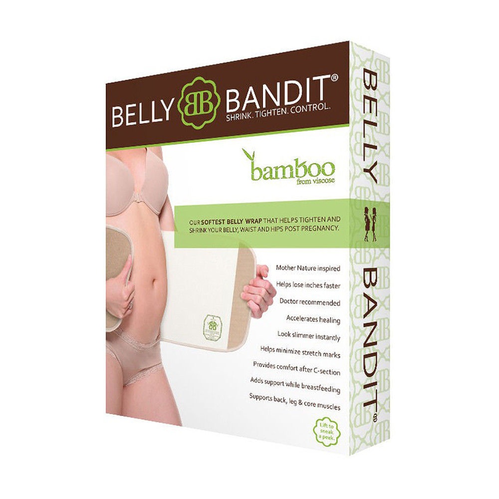 Belly Bandit Bandit Bamboo Belly Wrap Natural