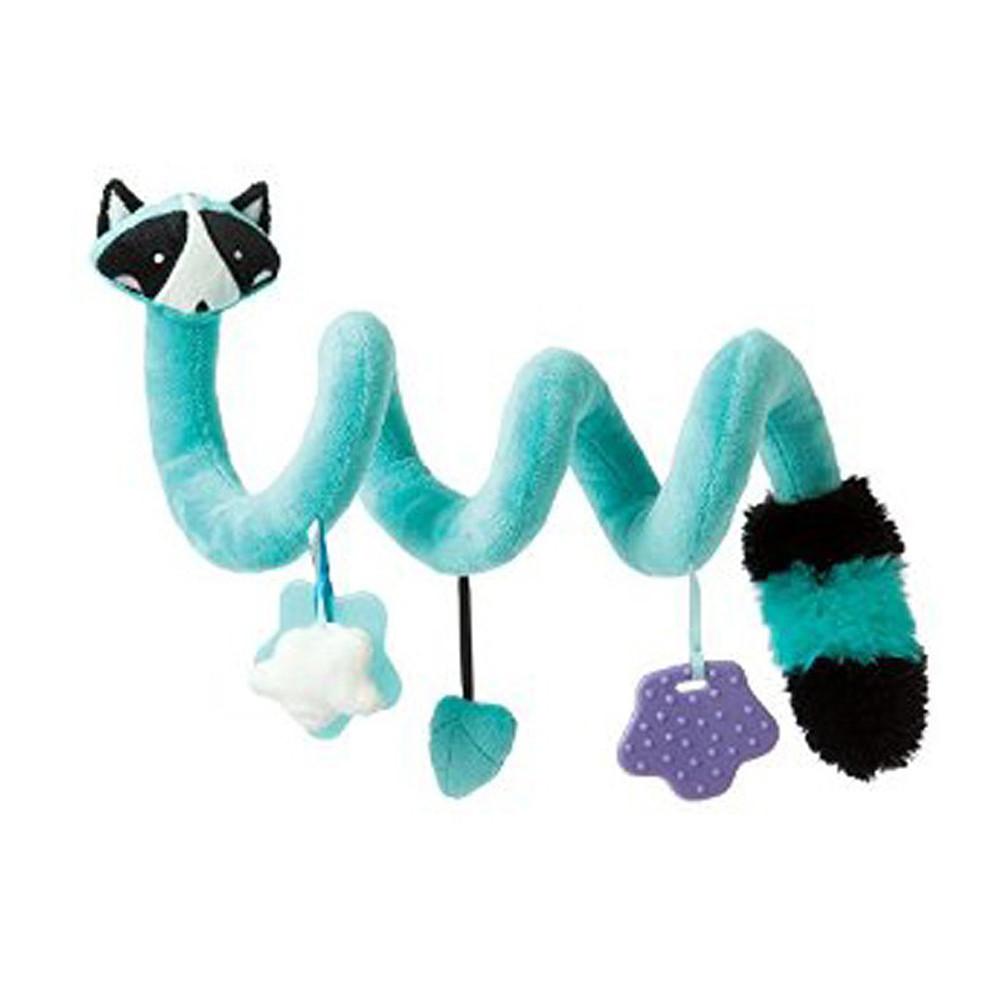 Manhattan Toy Travel + Comfort Activity Spiral Raccoon