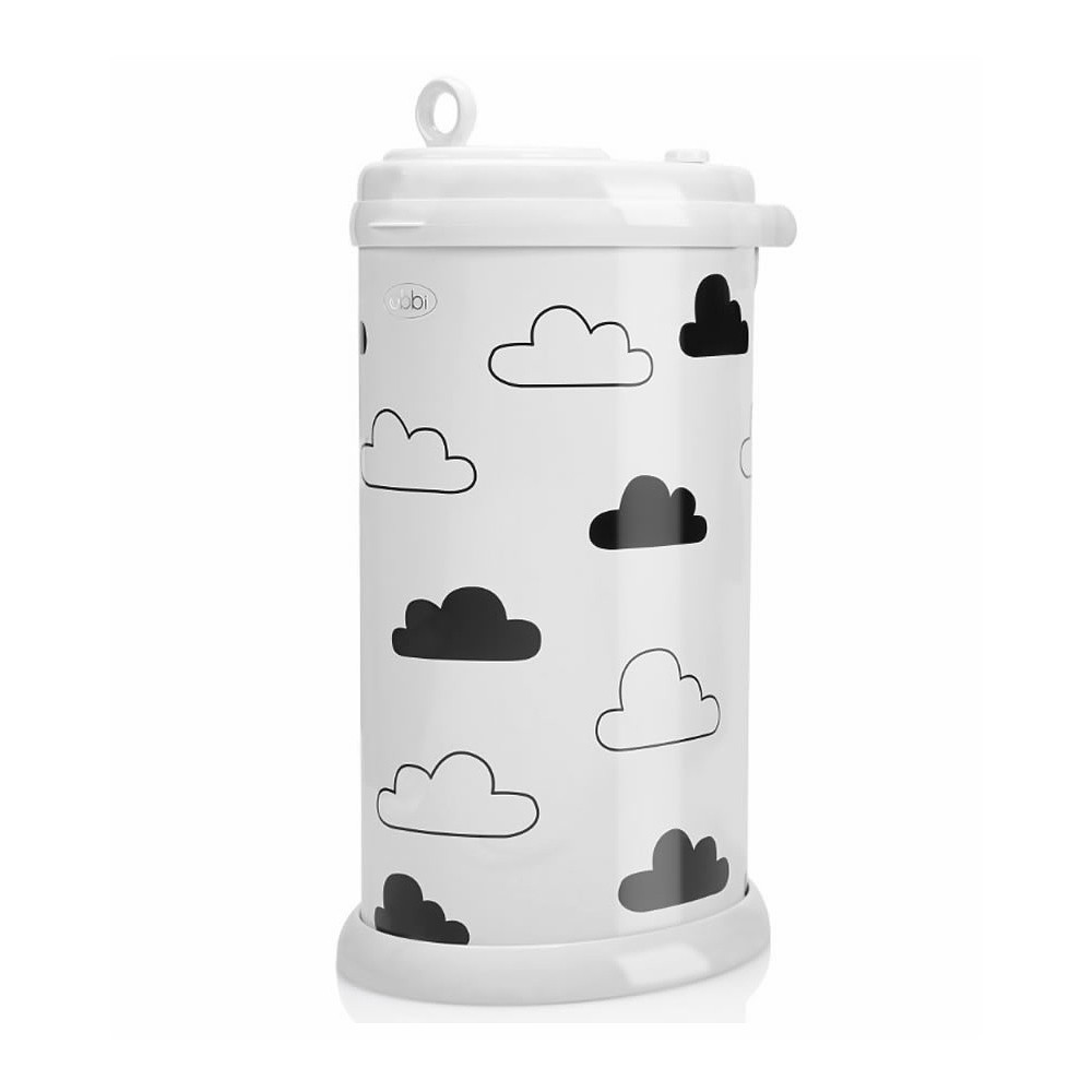 Ubbi Diaper Pail Clouds