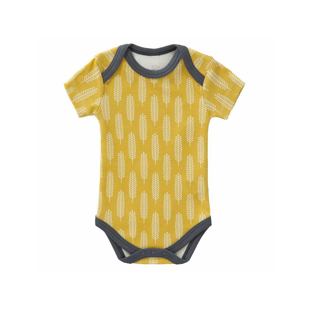 Fresk Short Sleeved Romper Yellow