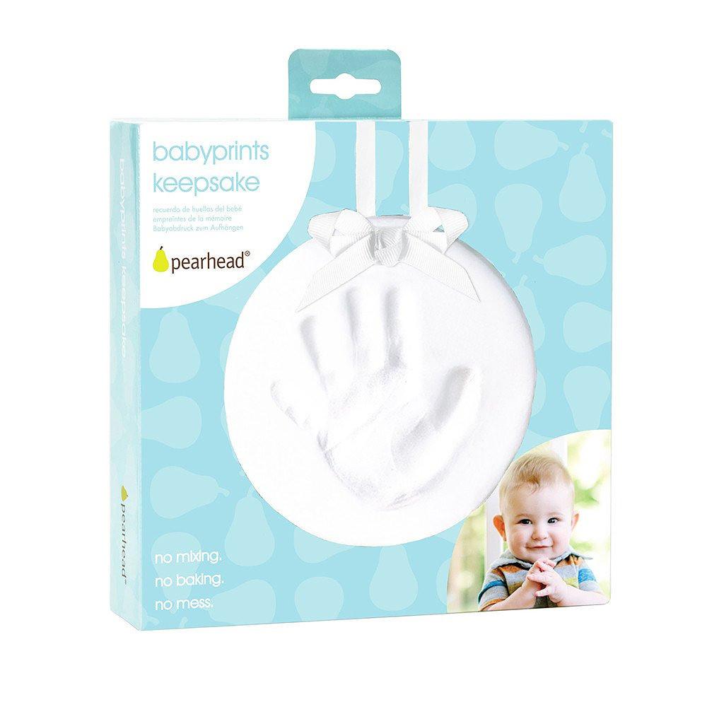 Pearhead Babyprints Hanging Keepsake White