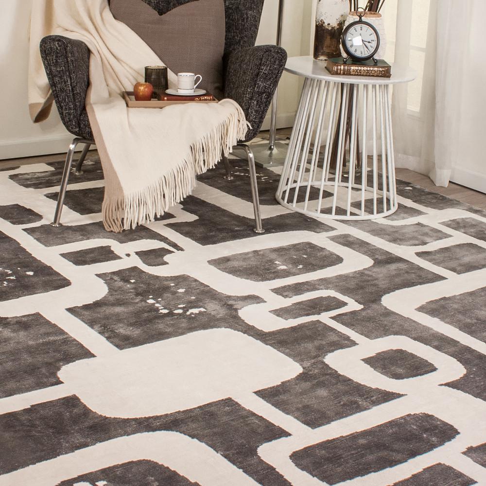Carpet Centre London White Silver 365 X 275CM