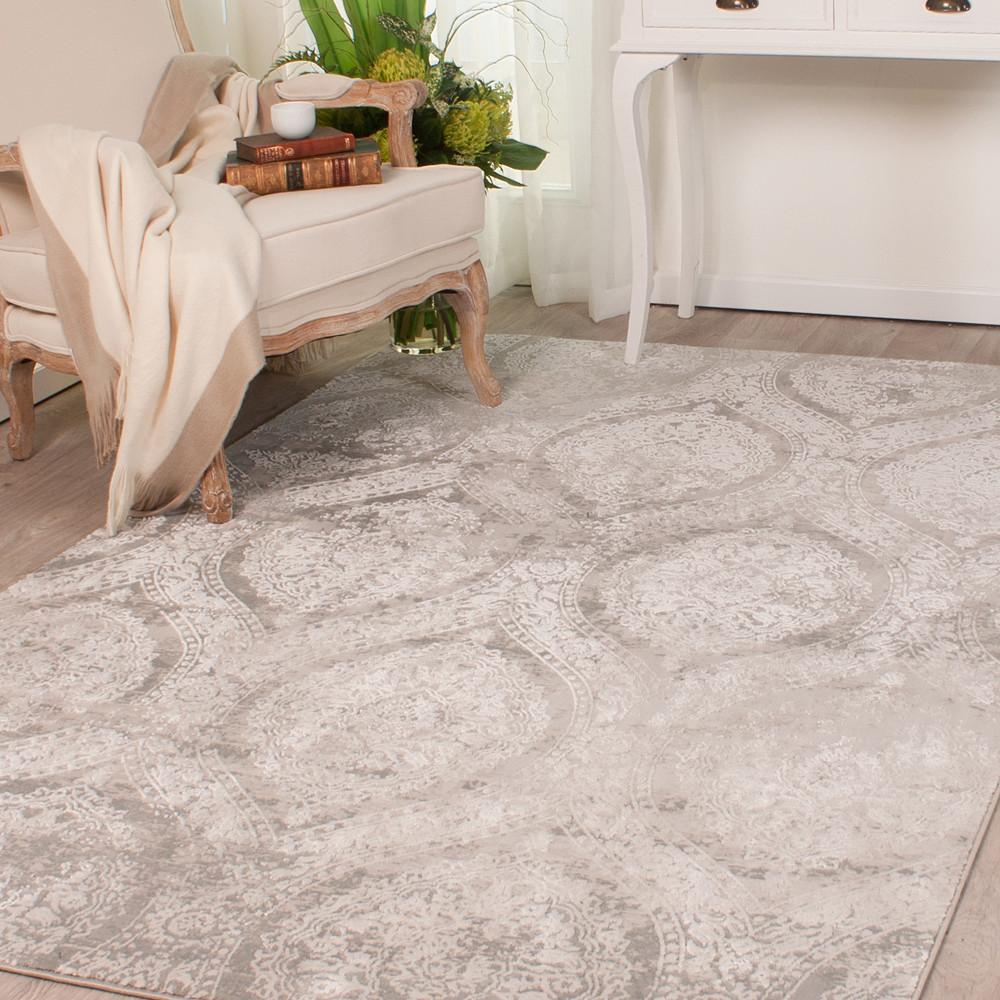 Carpet Centre Jacob Traditional Gray 355 X 245CM