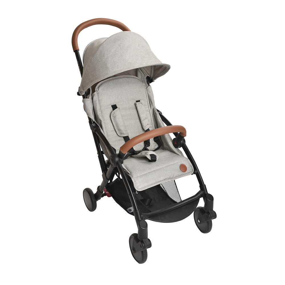 JustEssentials Flyer Stroller Grey Melange