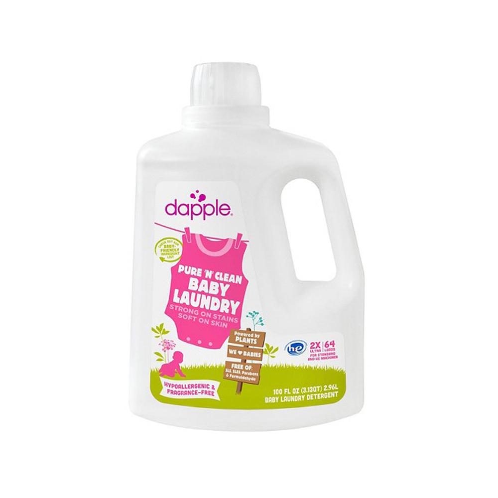Dapple Baby 2X Laundry Detergent Fragrance Free 100oz