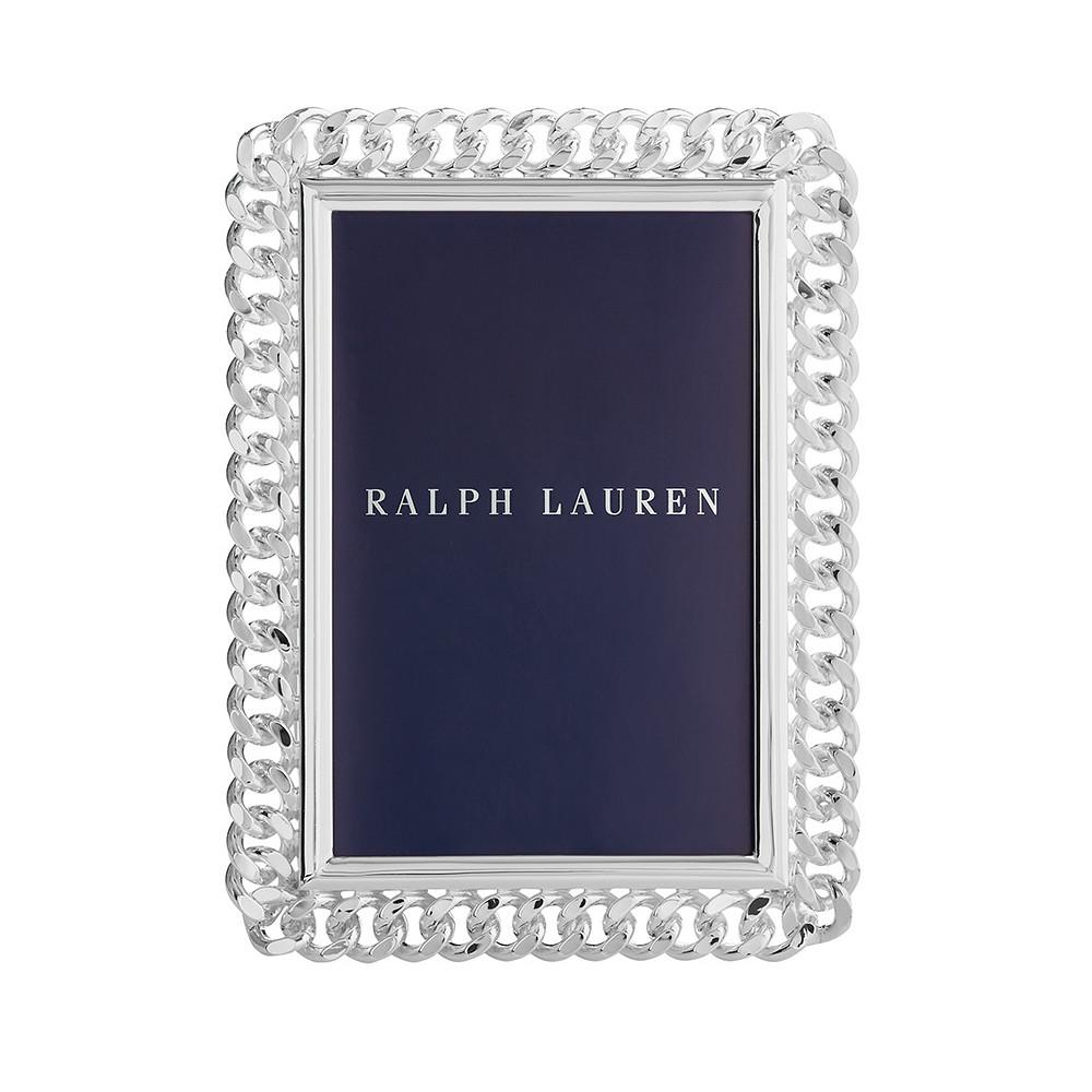 Ralph Lauren Blake Silver Plated Frame 4x6