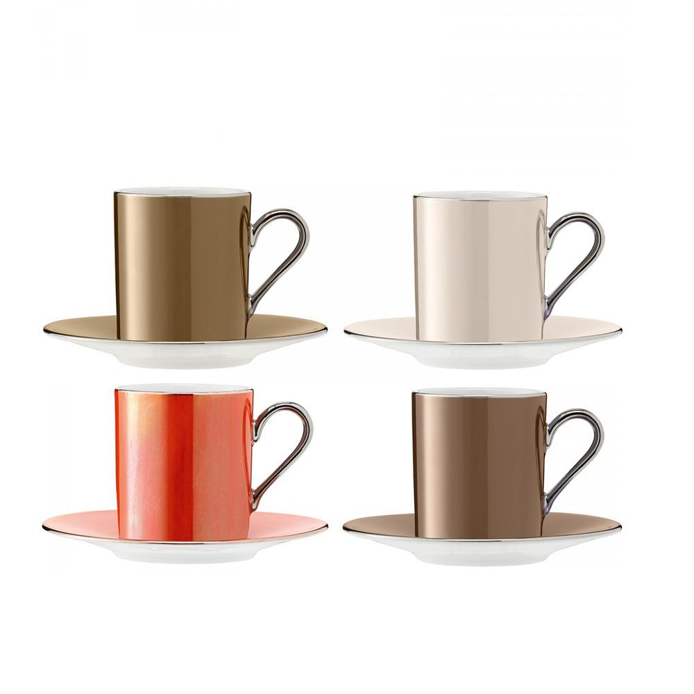 Polka Cup&Saucer S/4