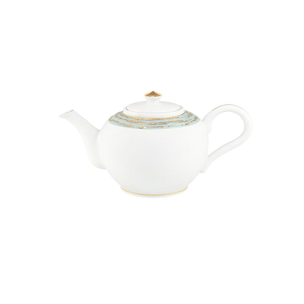 Porcel Shanghai Lotus Tea Pot