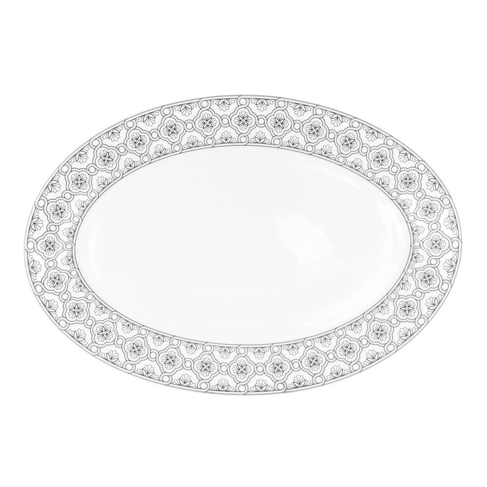 Porcel Dynasty Oval Platter 39cm