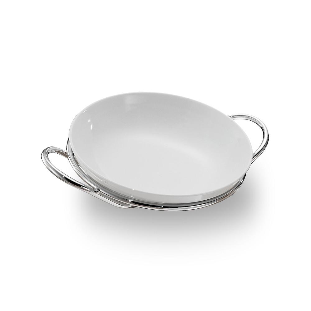 Zanetto Binario Round Spaghetti Dish 36cm