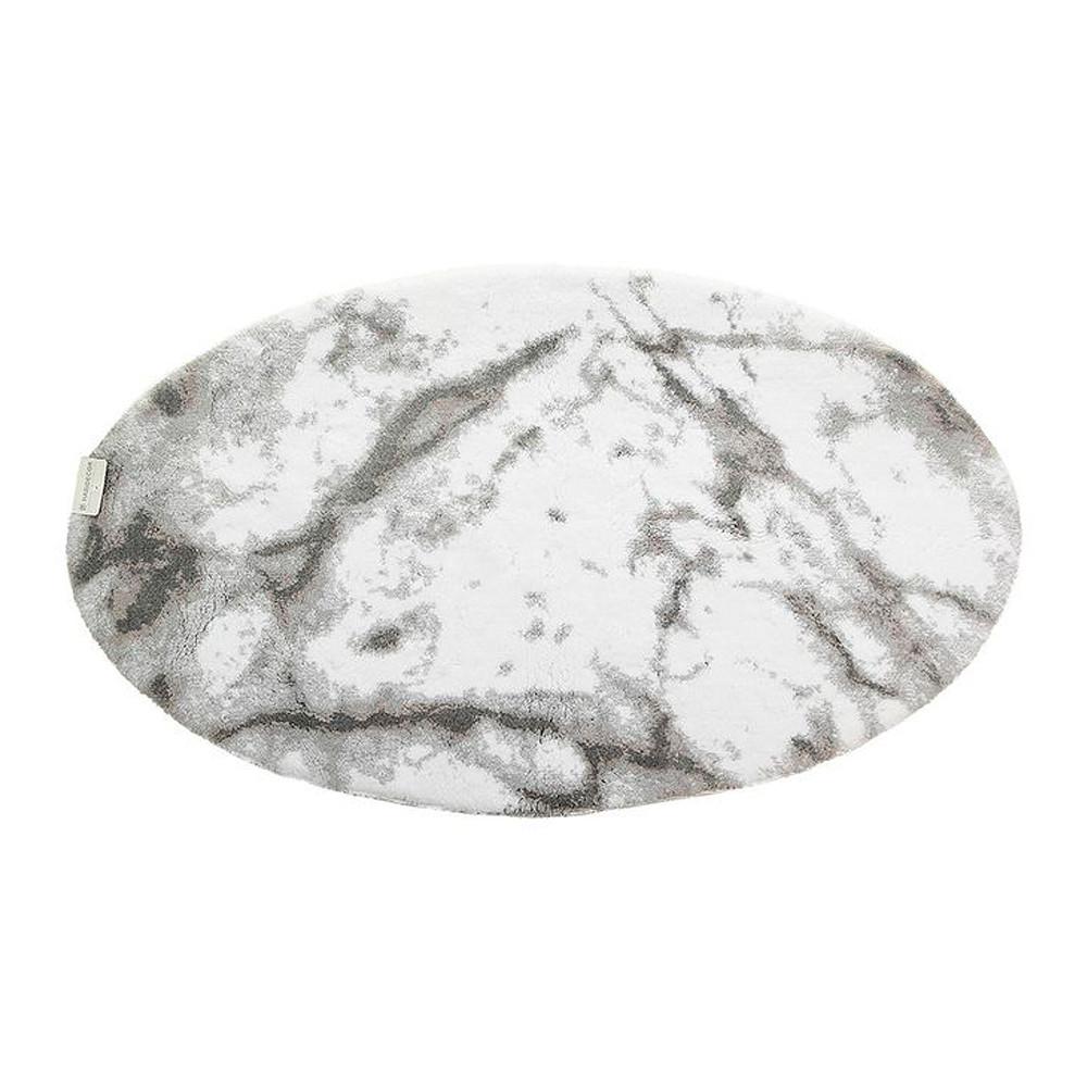 Abyss & Habidecor Bath Mat Carare Silver 75x125