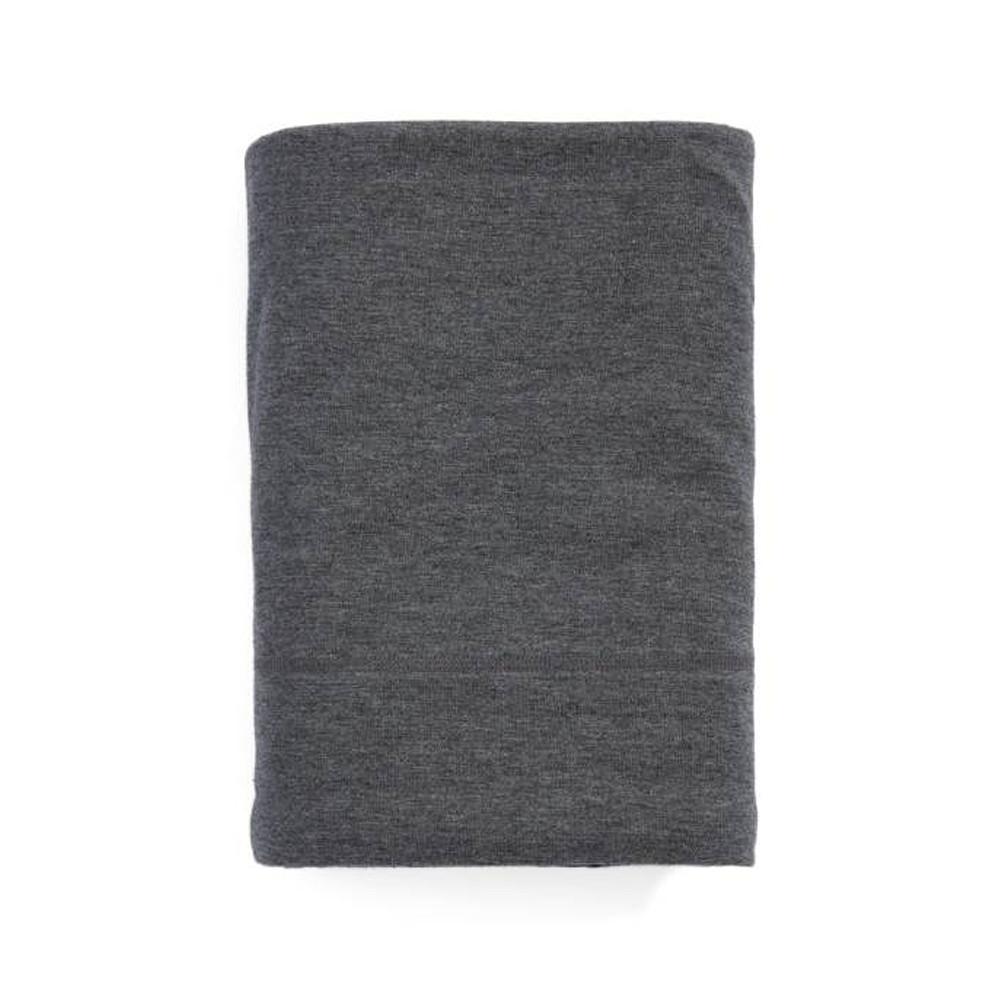 Calvin Klein Fitted Sheet Charcoal 90x200 Modern Cotton Jersey Body