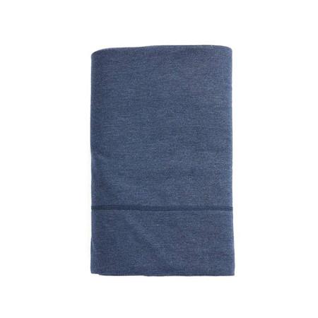 Calvin Klein Fitted Sheet Indigo 90x200 Modern Cotton Jersey Body
