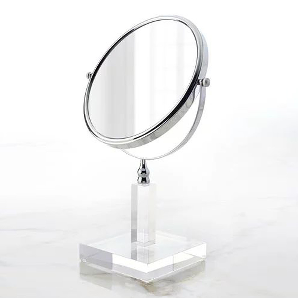 Mike & Ally Solid Ice Mirror Clear
