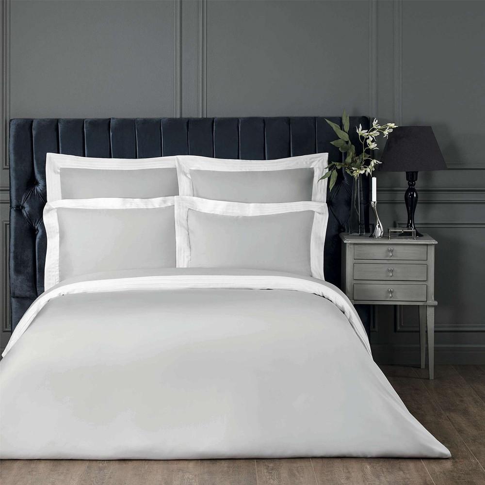 Togas Eden Bedding Set White Grey