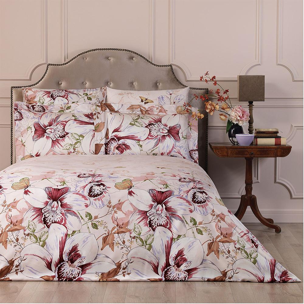 Togas Orchids L Bedding Set Pink