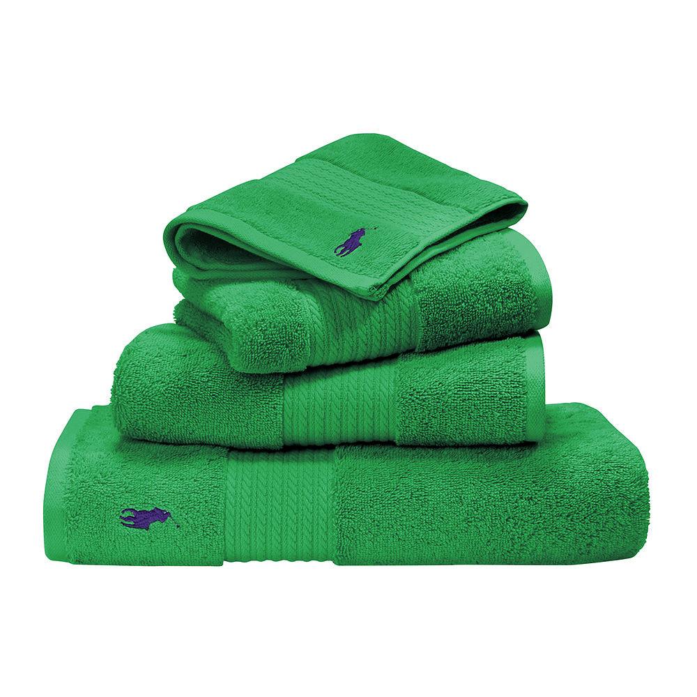 Ralph Lauren Face Towel Green