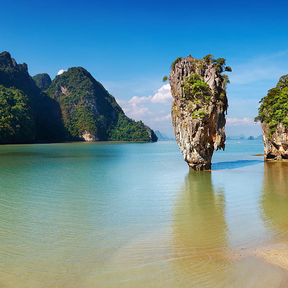 Cruise along Phang Nga Bay and James Bond Island tour
