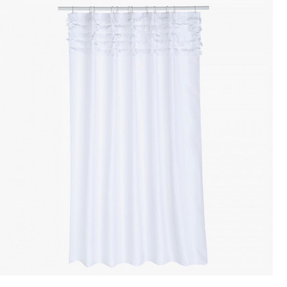 Home Centre Confetti Shower Curtain 180x180cm-White