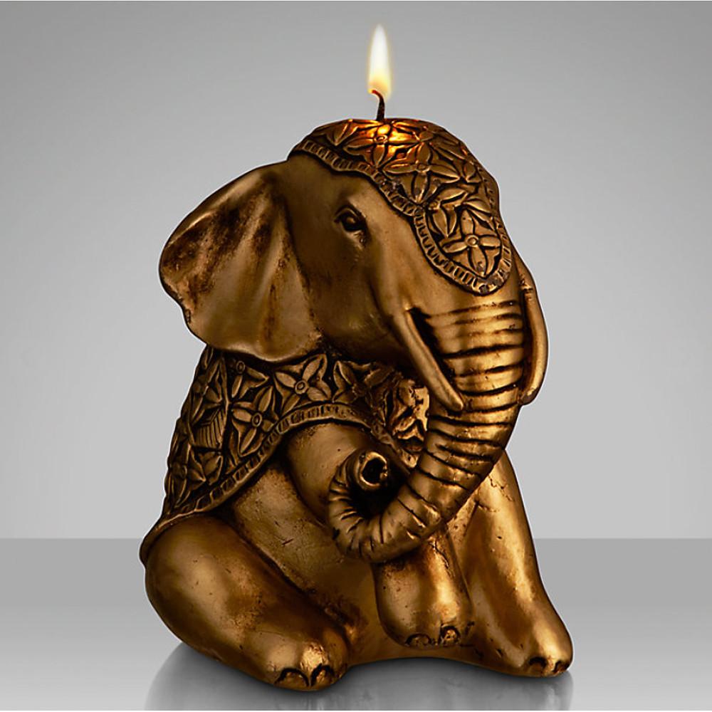 John Lewis Elephant Candle 16x13.9x11