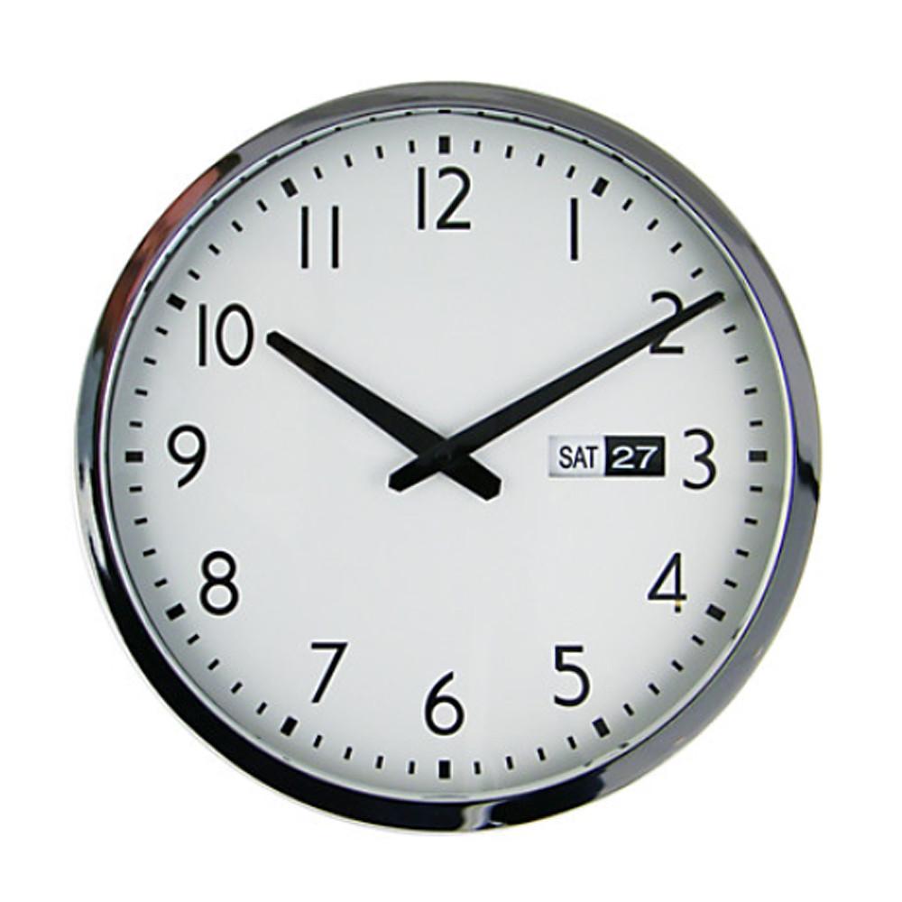 John Lewis Bedford Date Clock 30x3035x35cm