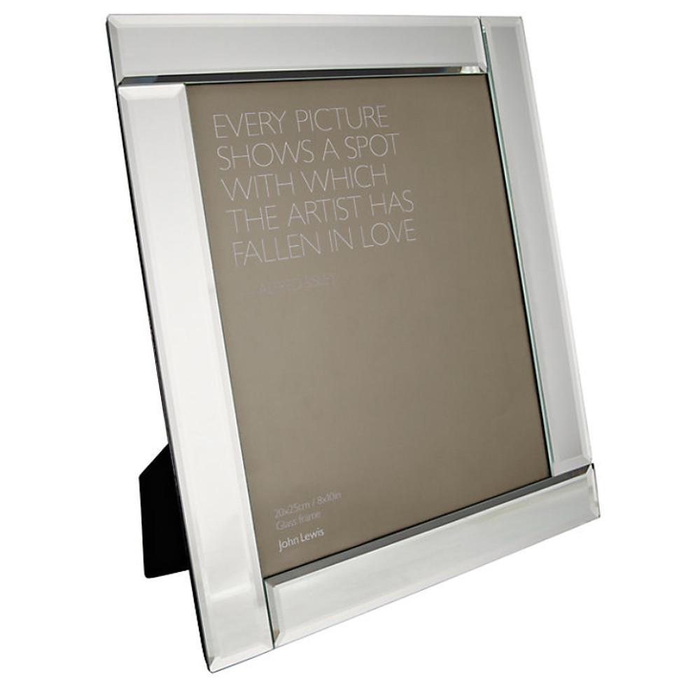 John Lewis Deco Glass Photo Frame 4 X 94X 9