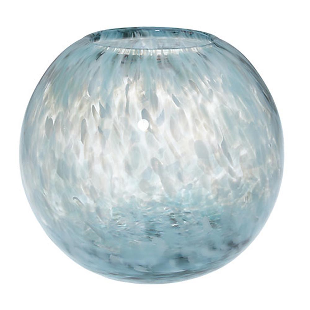 John Lewis Speckle Peacock Vase 15Cm