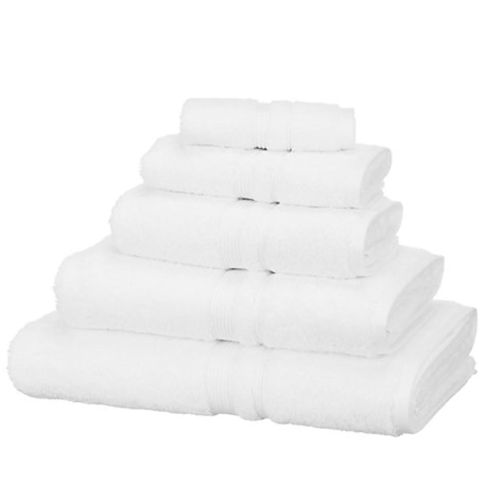 John Lewis Egyptian Cot Hand Towel White