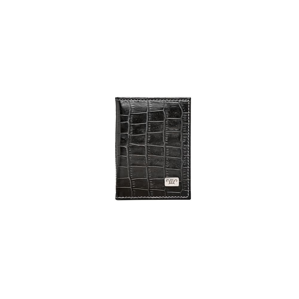 Wittet Croco Cardholder, KWC922BLK