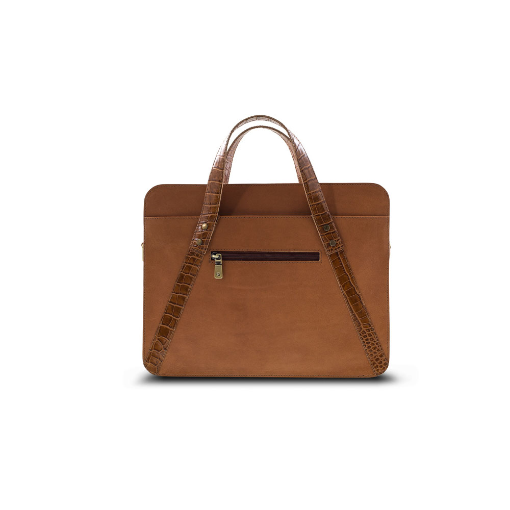 Adroit Business/Laptop Bag, KZ1284TAN