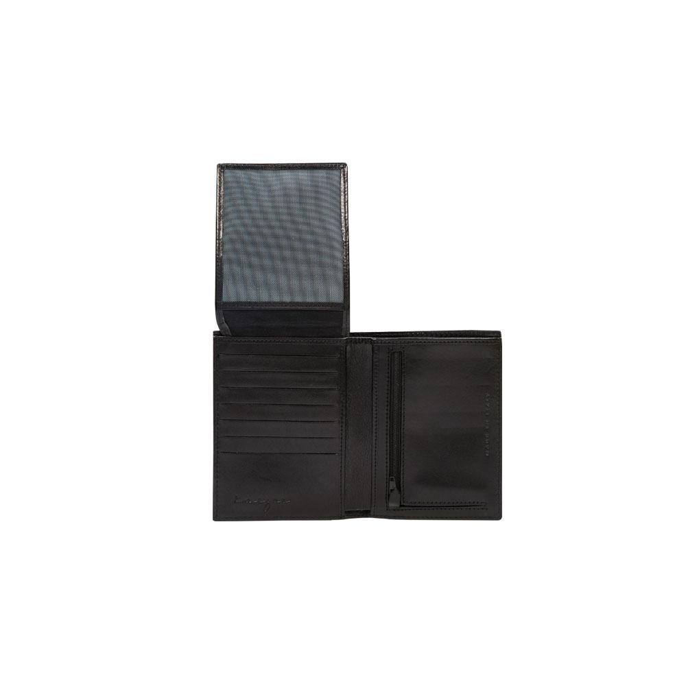 Suburban Vertical Wallet, KZ538BLK