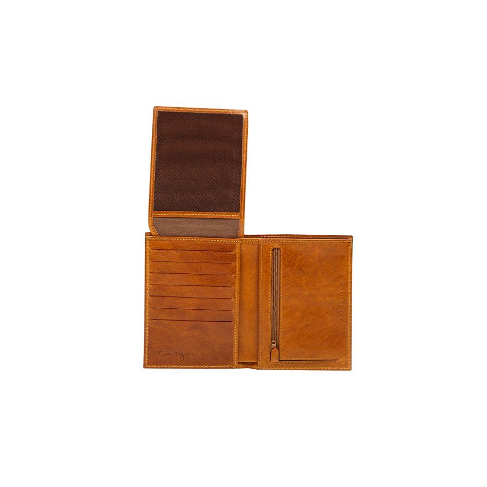 Suburban Vertical Wallet, KZ538TAN