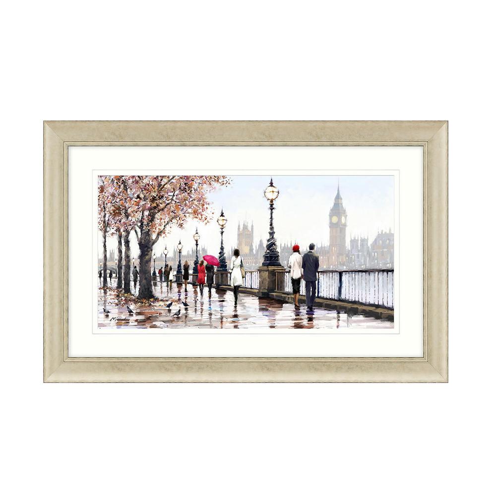 John Lewis Richard Macneil Thames View Framed Prin