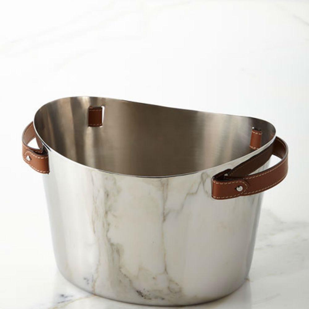 Ralph Lauren Wyatt Ice Bucket Brown