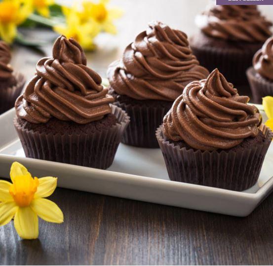 Chocolate Hazelnut Cupcakes 4