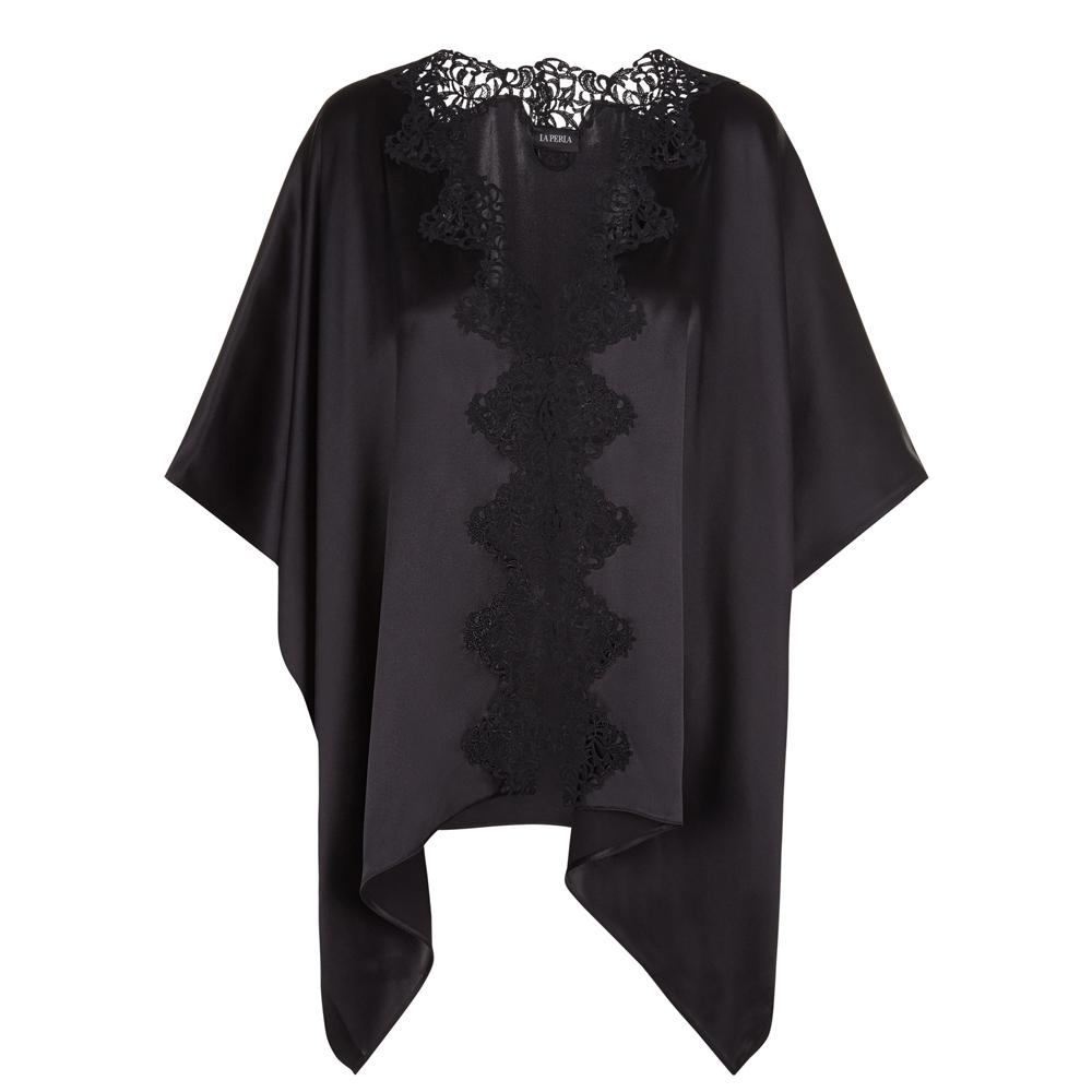 Petit Macrame Short Night Robe