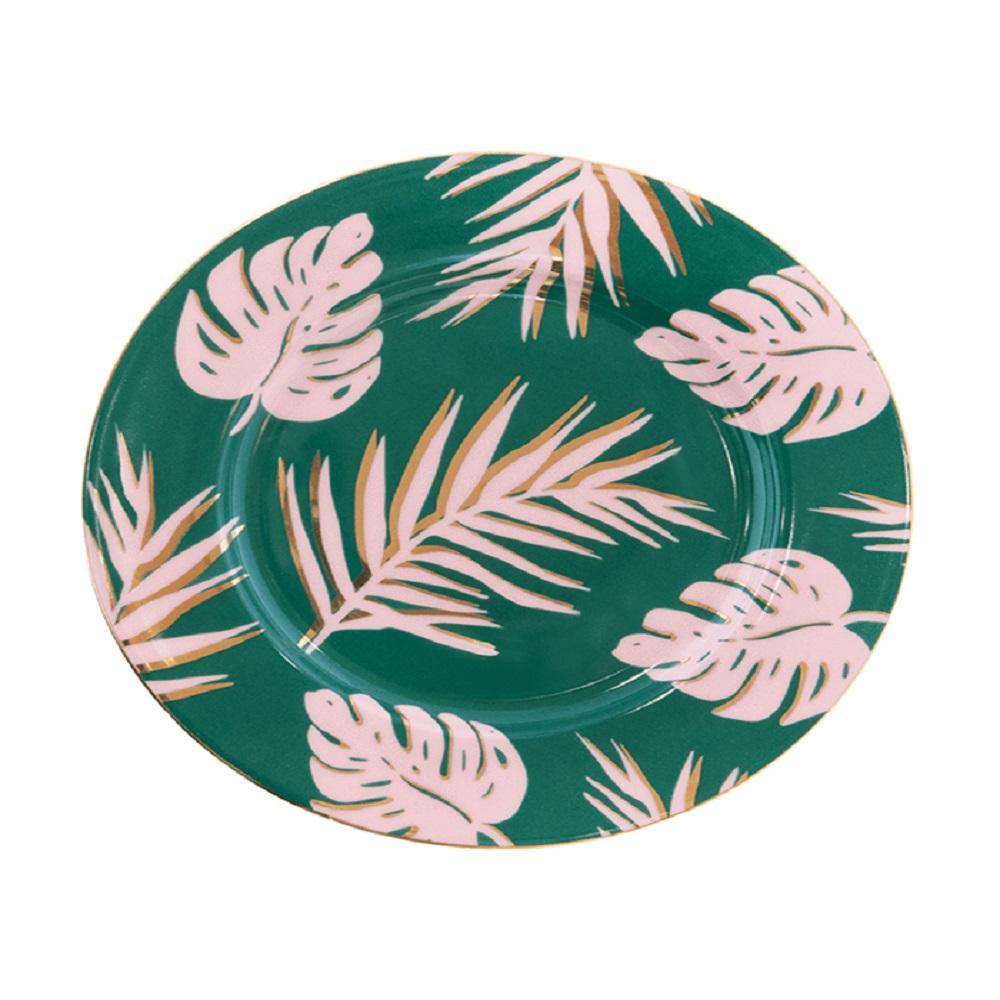 Cristina Re Emerald Island Side Plate Green & Gold